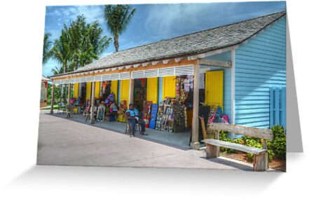 Pompey Market Place in Nassau, The Bahamas by 242Digital