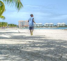 Bahamian Boy at Montagu Beach by 242Digital