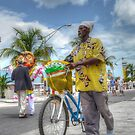 Peanuts Vendor on Woodes Rodgers Walk in Downtown Nassau, The Bahamas by 242Digital