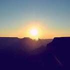 Sunrise over Grand Canyon by Ben Tyers