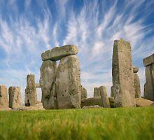 Stone Henge - Wiltshire, England by Kath Salier