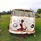 Abandoned Kombi at Farm by Bami