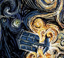 Van Gogh Tardis Case by Simply Josh Designs