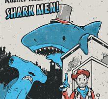 The rather reasonable shark men by Nathan Joyce