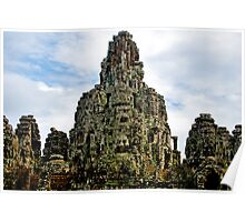 Bayan Temple - Cambodia Poster