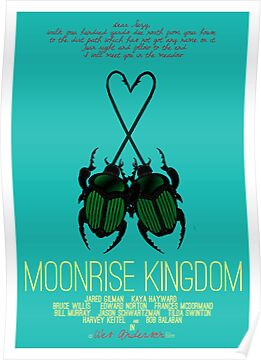 Moonrise Kingdom - minimal poster by alxqnn