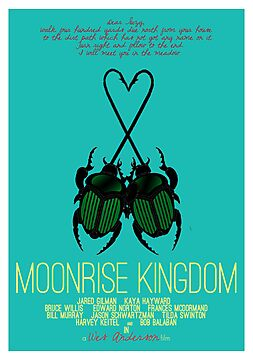 Moonrise Kingdom - minimal poster by Hitsville U.K.