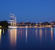 Stockholm at Night by Graham Jones