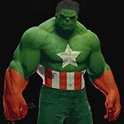 HULK - CAPTAIN AMERICA by ssapountzis89