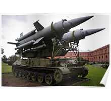 St Petersburg - Missile Launcher Poster