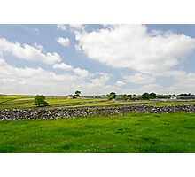 Strip Fields South of Litton  Photographic Print