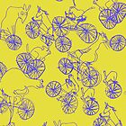 Bikey Likey - Yellow 2 by jamface