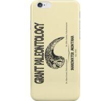 Grant Paleontology iPhone Case/Skin