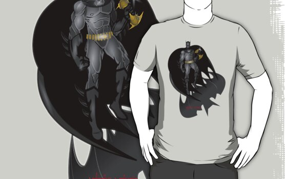 The Dark Knight T-shirt by CMProductions