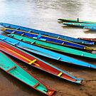 Boats on the Riverbank © by Ethna Gillespie