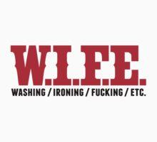 w.i.f.e - washing, fucking, ironing, etc. by Cheesybee