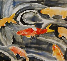 Goldfish II by Anita Morris