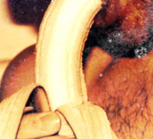 Sorry Girls I like Bananas Sticker