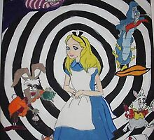 Through Alice by SkarlettHigh