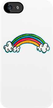 Little Rainbow TShirt by Karin  Taylor