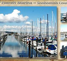 Port of Everett Marina Area by AboutheWOW