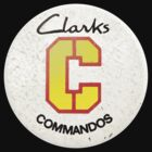 Retro 1970s Clarks Commandos Badge by paulcarstairs