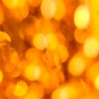 Gold light blur circles abstract design by Mariannne Campolongo