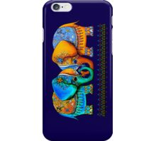 Littlest Elephant Love Links iPhone Case/Skin