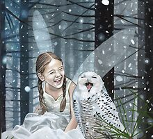 Snow Fairy by Susan Van Sant
