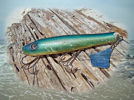 Vintage Lido Flaptail Saltwater Fishing Lure by MotherNature