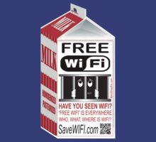Have You Seen WIFI? Help FREE WIFI by ArtShopEtc