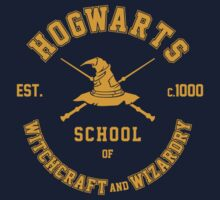 Harry Potter, Hogwarts Grad T-Shirt by Artpunk101