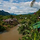 Cloudy Day in Vang Vieng by Rob Steer