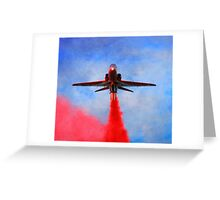 """""""Red Arrow"""" Greeting Card"""