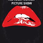No153 My The Rocky Horror Picture Show minimal movie poster by Chungkong