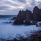 Phillip Island winter sunset by Megan Gardner