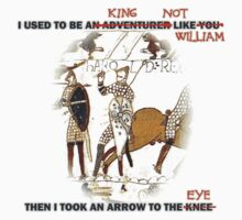 I used to be a King (not like William) by portiswood