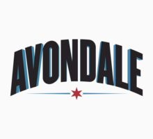 Avondale Neighborhood Tee by Chicago Tee