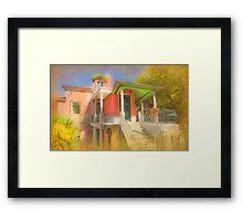 House II . Sintra Framed Print