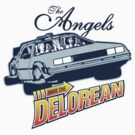 The Angels Have the Delorean Sticker by kal5000