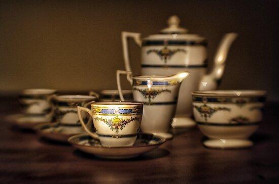 Art Deco Coffee Set by Kasia-D