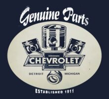 Chevrolet Genuine Parts Dark Colours by No17Apparel