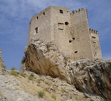 Ruins of Mula Castle, Murcia in Spain by Grace Johnson
