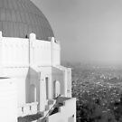 Los Angeles from Griffith Observatory by Harry Snowden