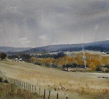 Autumn Chores - Carrick, Northern Tasmania by Phillip Austen