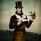 Man with Birds by ChristianSchloe