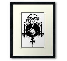 Satan Gets Ahead Framed Print