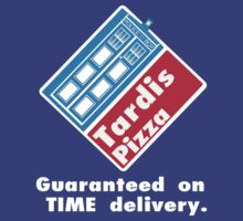 Tardis Pizza by TeeHut
