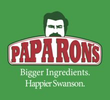 Papa Ron's Pizza by TeeHut
