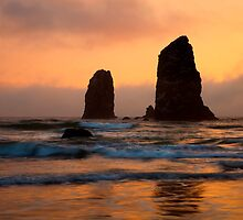 Stacks of Gold by DawsonImages